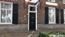 Belgisch-niederländische Grenze in Baarle