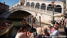 Europa Corona-Pandemie Lockerungen | Italien Venedig