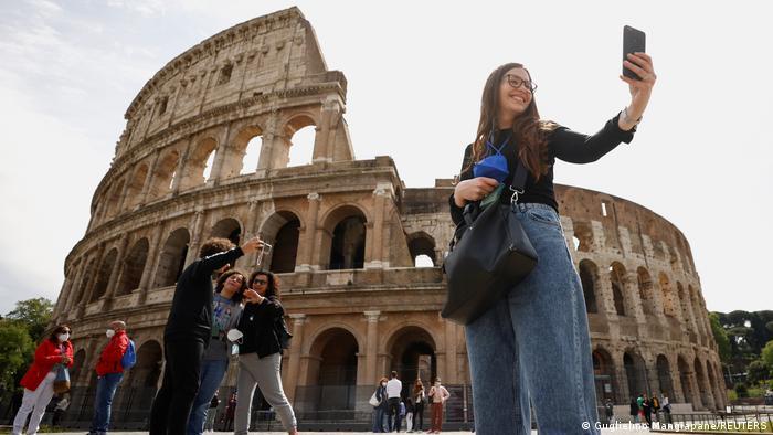 Ιταλία, τουρίστες, Ρώμη,