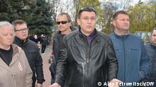 Belarus Dmitrij Bekaliuk Aktivist in Brest