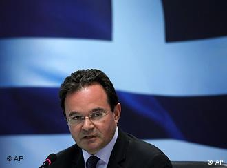 Finance Minister George Papaconstantinou
