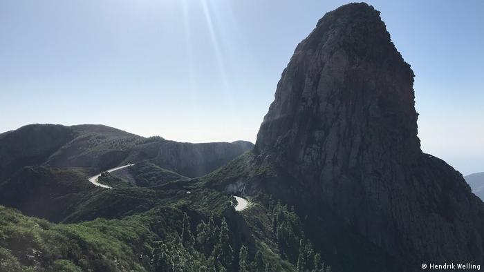 Spain, Landscape of La Gomera