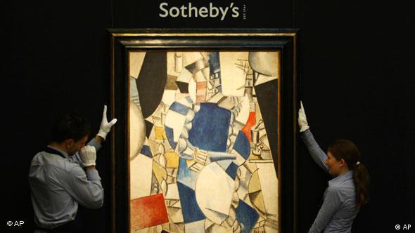 Obras de grandes artistas, como aqui de F. Léger: preços cada vez mais altos