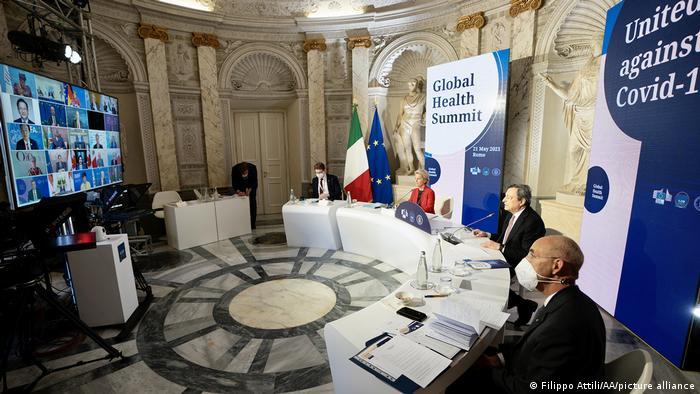 Rome Weltgesundheitsgipfel G20