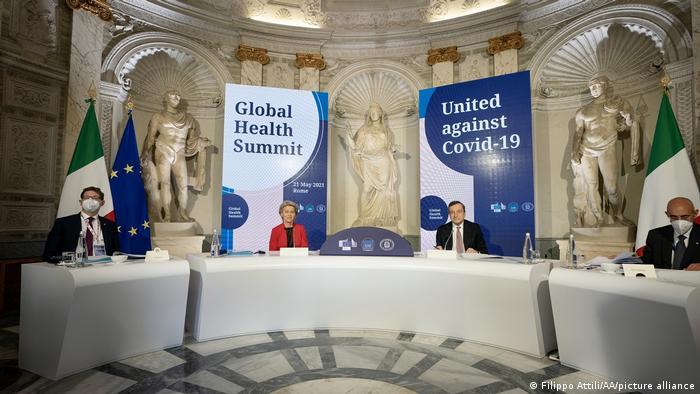 Rom Weltgesundheitsgipfel G20