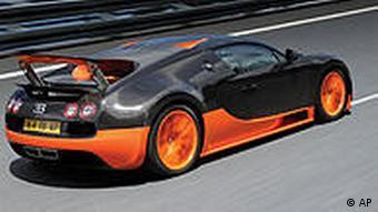 Deutschland Auto Volkswagen Rekord für Bugatti Veyron 16.4 Super Sport