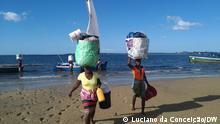 Moçambique: De barco à vela para a ilha de Inhambane