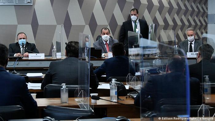 Brasilien | Untersuchungskommission im brasilianischen Senat über die Covid-19-Pandemie