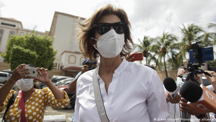 Cristiana Chamorro, la más visible de los candidatos opositores.