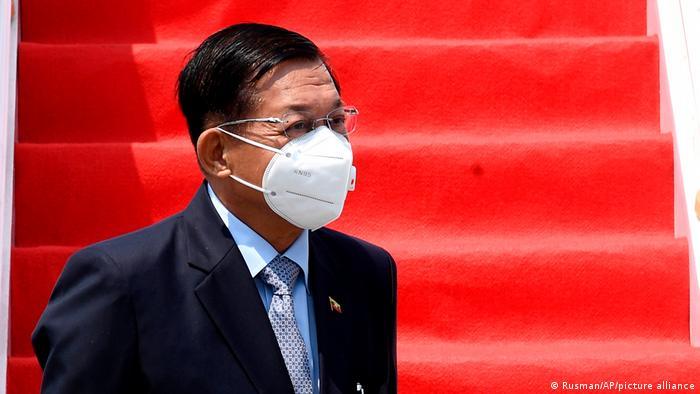 Indonesia ASEAN Senior General Min Aung Hlaing