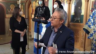 Ο Ηλίας Μαυρίδης, πρόεδρος του Συλλόγου Ελλήνων Ποντίων στο Ντίσελντορφ