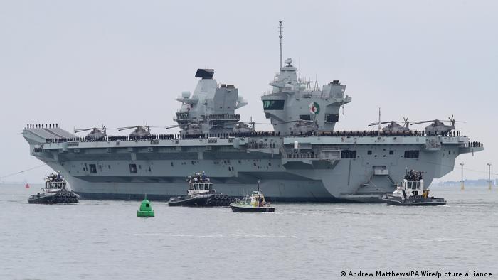 UK HMS Queen Elizabeth |