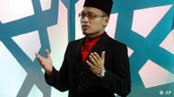 Taufek Noh is one of the contestants in Imam Muda