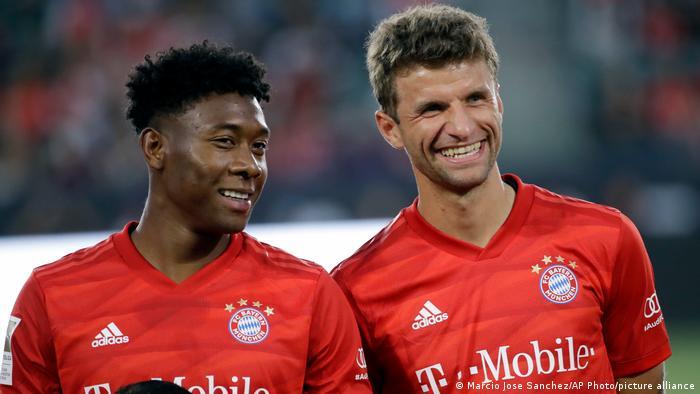 International Champions Cup 2017 |Bayern München |David Alaba, Thomas Müller