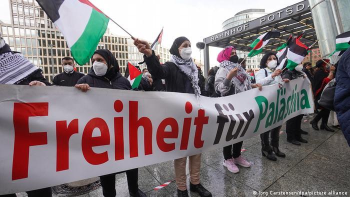 Pro-palestinski protesti u Berlinu (22.5.2021.)