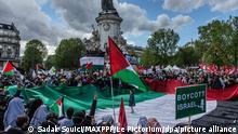 Konflikt in Nahost - Proteste in Frankreich