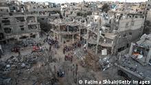 Palästina | Zerstörtes Gebäude in Gaza