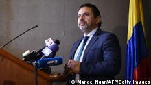 Kolumbiens Hochkommissar für Frieden Miguel Ceballos