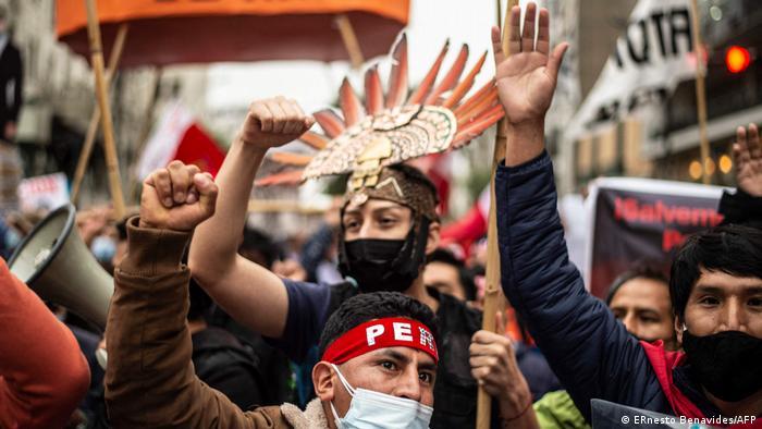 Peru | Protest gegen die Kandidatur des peruanischen Präsidentschaftskandidaten Keiko Fujimori