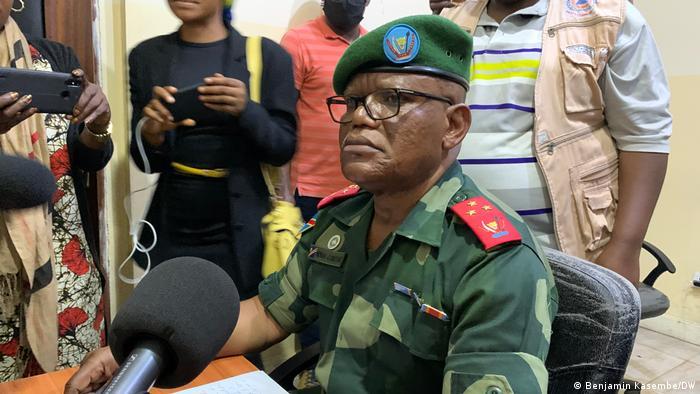 DR Kongo Militärischer Gouverneur von Nord-Kivu Constant Ndima