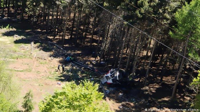 Mehrere Tote bei Seilbahnunglück in Italien