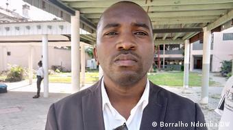 Angola Luanda |Veranstaltung zum Thema Pressefreiheit |Walter dos Reis, Presssesprecher