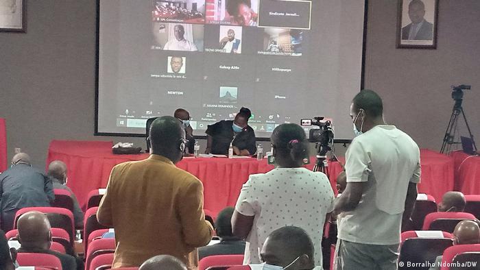 Angola Luanda |Veranstaltung zum Thema Pressefreiheit