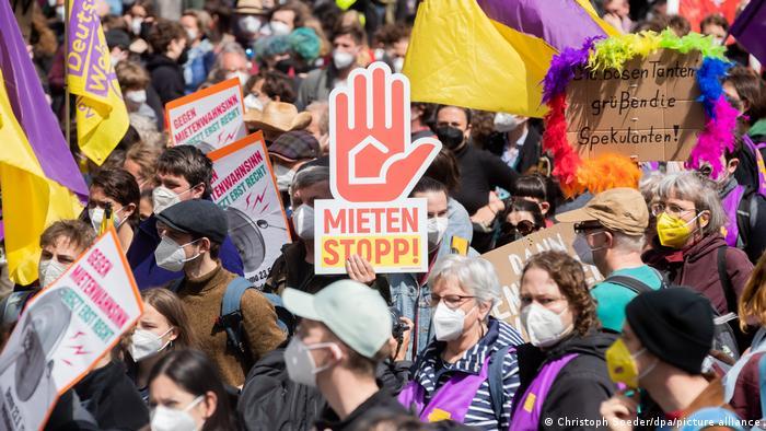 Демонстрация в Берлин срещу високите наеми