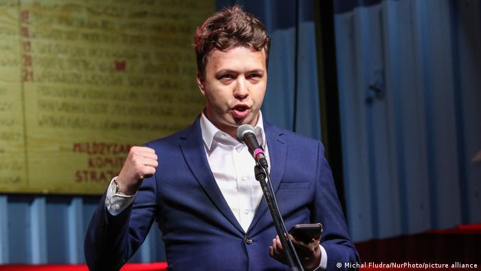 O jornalista belarusso Roman Protasevich