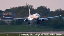 Litauen Landung Ryanair nach Roman Protasevich Verhaftung