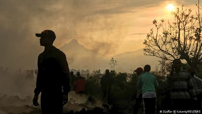 Kongo Goma Mount Nyiragongo Vulkanausbruch