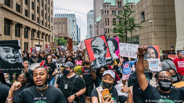 Marš sjećanja na Džordža Flojda u Minesoti protekle nedjelje
