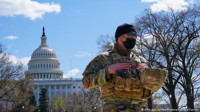USA Kapitol Bewachung Vorfall mit Fahrzeug