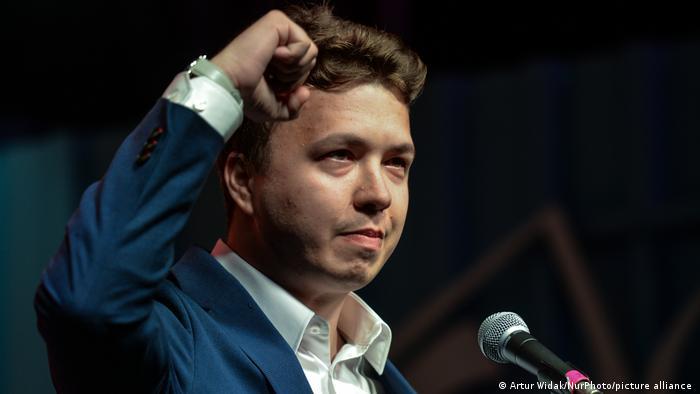 Roman Protassewitsch auf einem Archivbild von August 2020