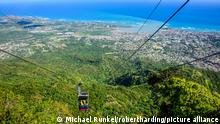 Teleforico, the only cable car in the Caribbean, Puerto Plata, Dominican Republic, West Indies, Caribbean, Central America