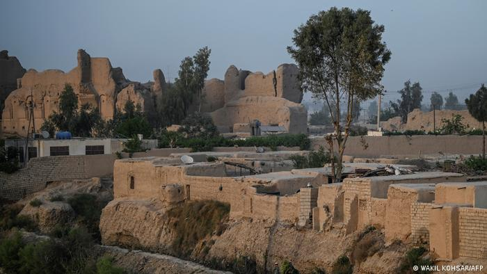 Afghanistan Lashkar Gah alte Stadt Terror Taliban Zerstörung