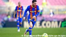 Mandatory Credit: Photo by Bagu Blanco/Pressinphoto/Shutterstock 11894532db Lionel Messi of FC Barcelona, Barca FC Barcelona v Atletico de Madrid, LaLiga Santander, date 35. Football, Camp Nou Stadium, Barcelona, Spain - 8 May 2021 EDITORIAL USE ONLY No use with unauthorised audio, video, data, fixture lists outside the EU, club/league logos or live services. Online in-match use limited to 45 images 15 in extra time. No use to emulate moving images. No use in betting, games or single club/league/player publications/services. FC Barcelona v Atletico de Madrid, LaLiga Santander, date 35. Football, Camp Nou Stadium, Barcelona, Spain - 8 May 2021 EDITORIAL USE ONLY No use with unauthorised audio, video, data, fixture lists outside the EU, club/league logos or live services. Online in-match use limited to 45 images 15 in extra time. No use to emulate moving images. No use in betting, games or PUBLICATIONxINxGERxSUIxAUTXHUNxGRExMLTxCYPxROMxBULxUAExKSAxONLY Copyright: xBaguxBlanco/Pressinphoto/Shutterstockx 11894532db