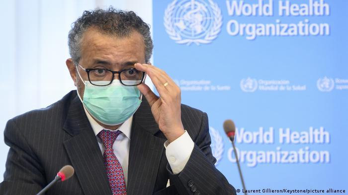 Genf, Schweiz | 74. WHO-Jahrestagung | Tedros Adhanom Ghebreyesus