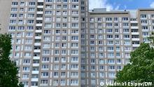 Wohnhaus in Berlin-Marzahn | Aufgenommen am 22.5.21, Copyright Vladimir Esipov DW.