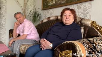Жители берлинского района Марцан Роза и Андрей