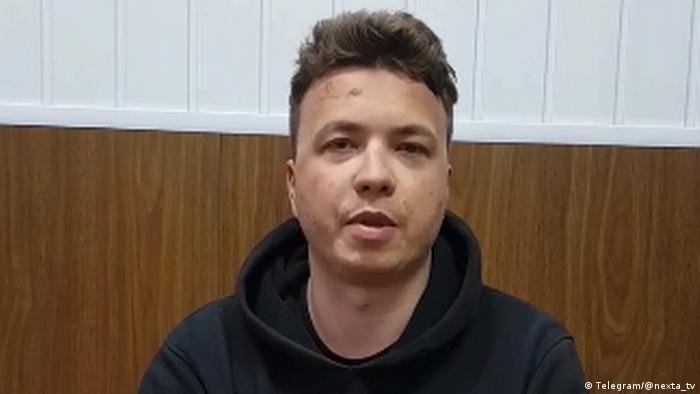 Бывший редактор оппозиционного Telegram-канала Nexta, белорусский журналист Роман Протасевич