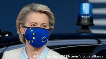Урсула фон дер Ляйен на саммите ЕС