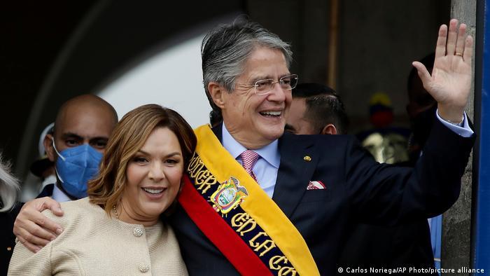 Ecuador Inauguration Guillermo Lasso