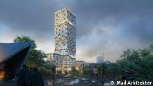 2021 Mad arkitekter gewinnt den Realisierungswettbewerb für das Wohnhochhaus WoHo in Berlin-Kreuzberg