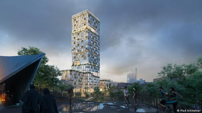 Так виглядатиме найвища у світі дерев'яна багатоповерхівка WoHo, яку зведуть в Берліні