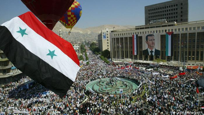 Syrien | Präsidentschaftswahl | Tausende Menschen feiern Assads Wiederwahl