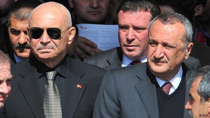 Korkut Eken ve Mehmet Ağar, Emniyet'te birlikte çalıştı
