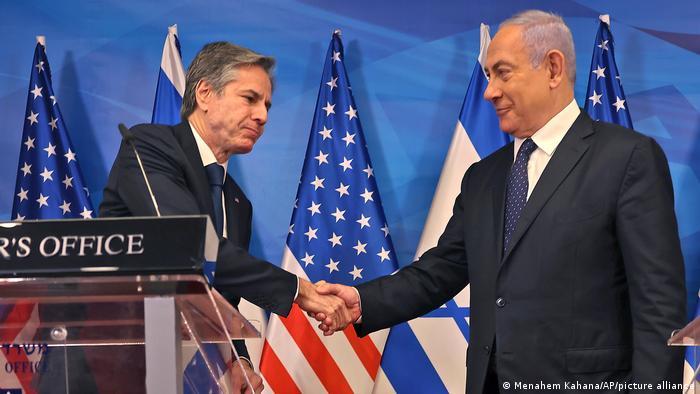Israel Jerussalem | Besuch US-Außenminister Blinken bei Netanjahu