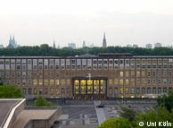 Главное здание университета на юго-западе Кельна