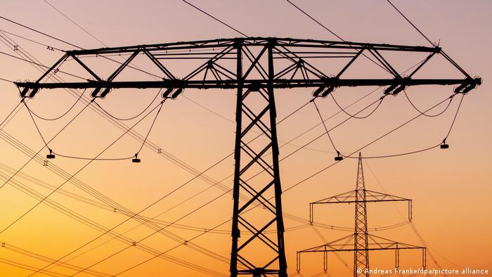 Deutschland Symbolbild Stromnetze